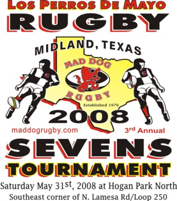 England Rugby Player Mad Dog: Dallas Athletic Rugby Club: May 2008